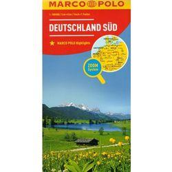 Marco Polo Mapa Samochodowa Południowe Niemcy 1:500 000 Zoom