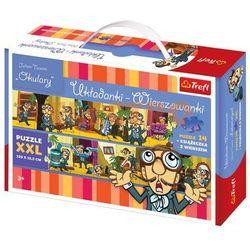Okulary. Układanki - Wierszowanki Puzzle + książeczka