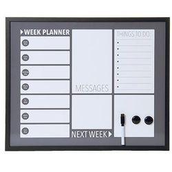 Tablica Memo -& White Board Plan dark grey by pt,