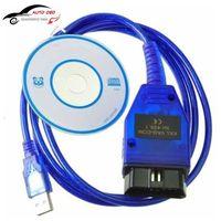 VAG-COM 409.1 Vag 409 Vag Com 409.1 KKL OBD2 USB Cable Scan Tool Interface For Audi VW SEAT SKODA Vag kkl USB Diagnostic-tool