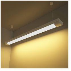 Lampa sufitowa, świetlówka LED 28W ciepły biały+zestaw do zawieszania Zapisz się do naszego Newslettera i odbierz voucher 20 PLN na zakupy w VidaXL!