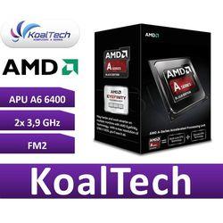 Procesor AMD APU A6 6400K BE 3900 MHz FM2 Box