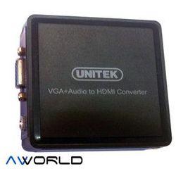 Unitek konwerter VGA na HDMI (Y-8701)