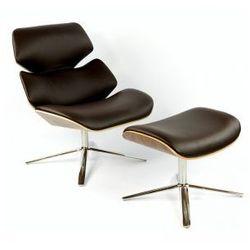 Fotel Bari z podnóżkiem