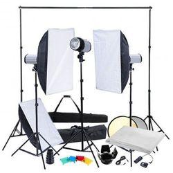 Zestaw studio softboksy, statywy i oświetlenie Zapisz się do naszego Newslettera i odbierz voucher 20 PLN na zakupy w VidaXL!