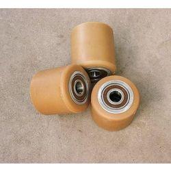 ROLKA metalowo-poliuretanowa do wózka paletowego 80 x 70 mm