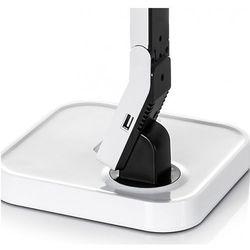 Lampka biurkowa iSTAR LED biała + dok ładowarka iPhone - Biały