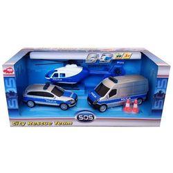 Zestaw pojazdów SOS Policja
