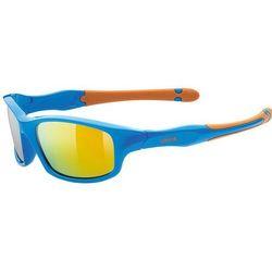 Dziecięce sportowa okulary Uvex Sportstyle 507 Blue Orange (4316)