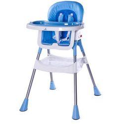 Krzesełko do karmienia Pop niebieskie