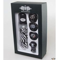 dla dzieci prezent zestaw ROCK STAR BABY - Zebra - 90109