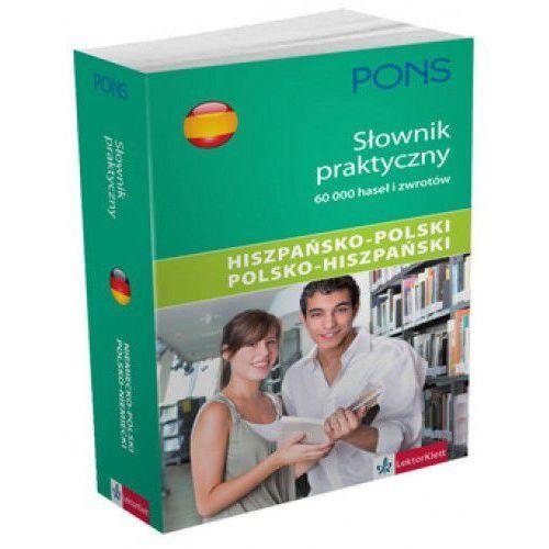 PONS Słownik praktyczny hiszpańsko-polski polsko-hiszpański (opr. miękka)