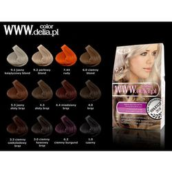 DELIA Krem koloryzujący do włosów WWW.delia.pl, kolor: 5.3 Jasny złoty brąz