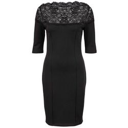 932ded54c0 suknie sukienki boohoo czerwona sukienka z koronki (od Sukienka z ...