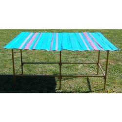 Składany stół ramkowy do handlu długość ok. 2m + szeroki blat