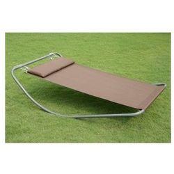 Bujak - leżanka na metalowej ramie 210x130cm