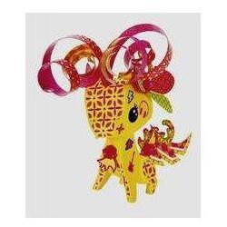 AMIGAMI figurka Żyrafa + akcesoria