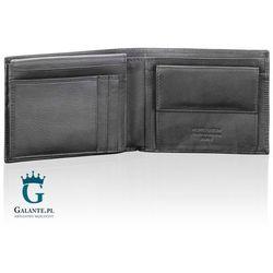 c46c2e38b0232 portfele portmonetki podluzny portfel meski z tloczonej skory czarny ...