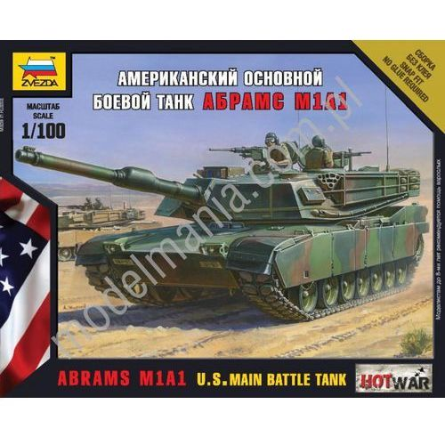 Amerykański czołg Abrams A1M1 Zvezda 7405