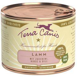 Terra Canis 6 x 200 g - Wołowina z warzywami, jabłkiem i ryżem naturalnym