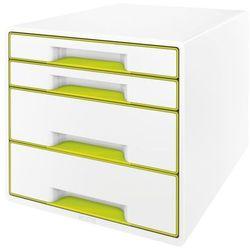 Kontener szufladowy Leitz Wow 4 szuflady 5213 - metaliczny zielony