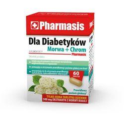Pharmasis DLA DIABETYKÓW MORWA + CHROM 60 tabletek