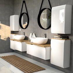 Meble łazienkowe Podwieszane Umywalkowe Wiszące