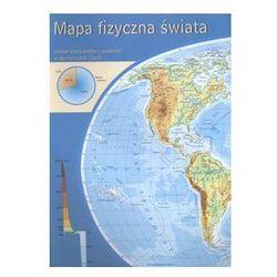 Świat mapa podreczna fizyczna świata - polityczna świata