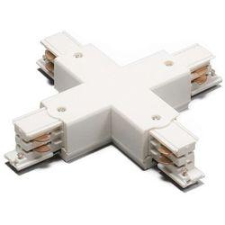 Łącznik X dla 3-fazowych szyn, biały