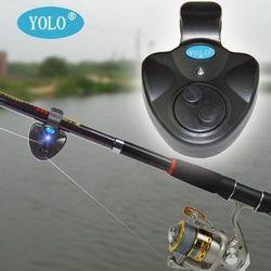Hot! Universal Fishing Alarm Set Wireless Electronic Fish Bite Alarms Finder LED Light Sound Alert Clip On Rod Carp Tackle Boxes