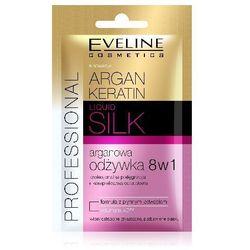 Eveline Argan & Keratin Liquid Silk Odżywka do wosów 8w1 saszetka 12ml