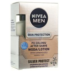 NIVEA FOR MEN Antybakteryjna woda po goleniu SILVER PROTECT 100ml