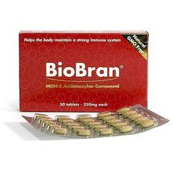 BiBran 250 50 tabletek - naturalny modulator odporności (dawniej Bio Bran)
