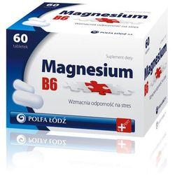 Magnesium B6 Polfa-Łódź tabl. - 60 tabl.