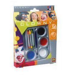 SES Creative, Clowny, Zestaw do malowania twarzy, Pajac