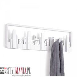 Ozdobny wieszak na ubrania biały Umbra Skyline 318190-660