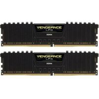 CORSAIR DDR4 DIMM 32GB/3200 (2x16GB) CL16-18-18-36 Vengeance LPX BlackHeat CMK32GX4M2B3200C16