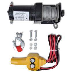 vidaXL Wciągarka elektryczna 12 V, z przewodowym sterowaniem Darmowa wysyłka i zwroty