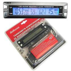 Termometr samochodowy + Zegarek+ Wskaźnik napięcia