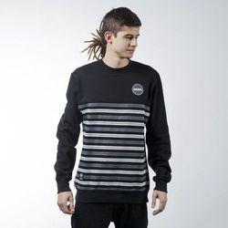 Mass Denim sweatshirt bluza Glory crewneck black - black