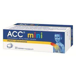 ACC mini tabl.mus. 0,1 g 20 tabl.