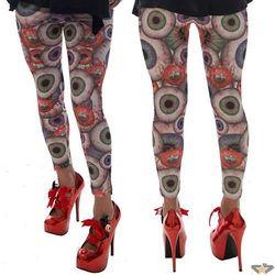 spodnie damskie (legginsy) KREEPSVILLE SIX SIX SIX - Paskudztwo - Gles