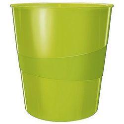 Kosz na śmieci 15L Leitz WOW zielony metalik 52781064