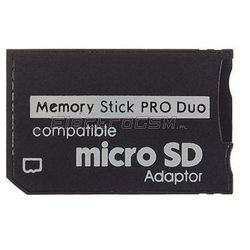 Adapter Micro SD na Memory Stick Pro Duo