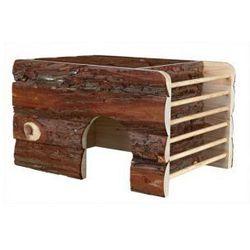 Domek drewniany dla gryzoni Ila