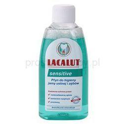 Lacalut Sensitive płyn do płukania jamy ustnej dla wrażliwych zębów + do każdego zamówienia upominek.