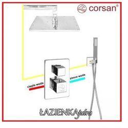 CORSAN Zestaw podtynkowy z termostatem, chrom CM-01T_25R