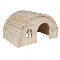 Domek dla gryzoni z drewna sosnowego Rozmiar:29 × 17 × 20 cm