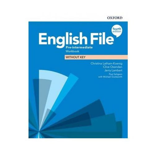 English File: Pre-intermediate: Workbook Without Key (opr. broszurowa)