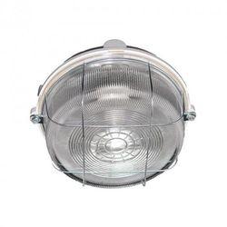 Oprawa oświetleniowa BURSTER, szara, E27, szkło przeźr. osł. stalowa ORNO
